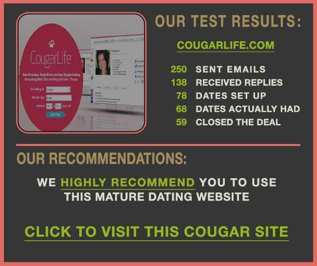cougar life dating free