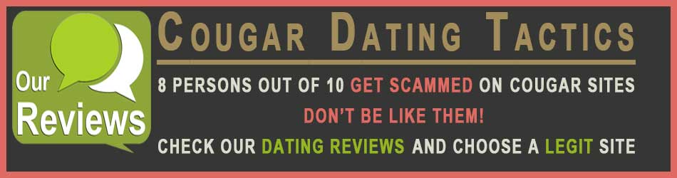 Cougar dating tactics